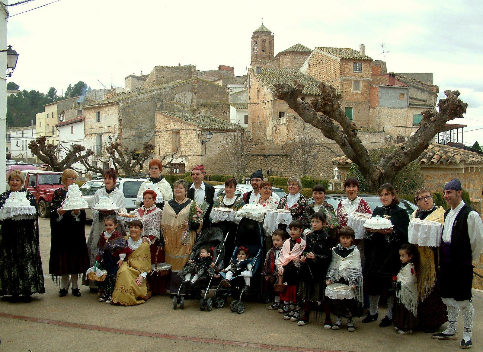 Foto de familia; procesión de San Valero 2009 >> pincha para verla en la galería.
