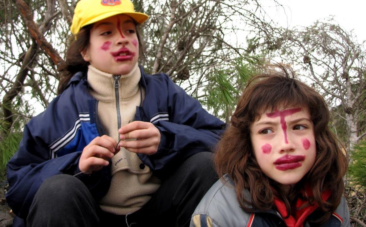 Caras pintadas, La copa (año 2009) >> pincha para verla en la galería.